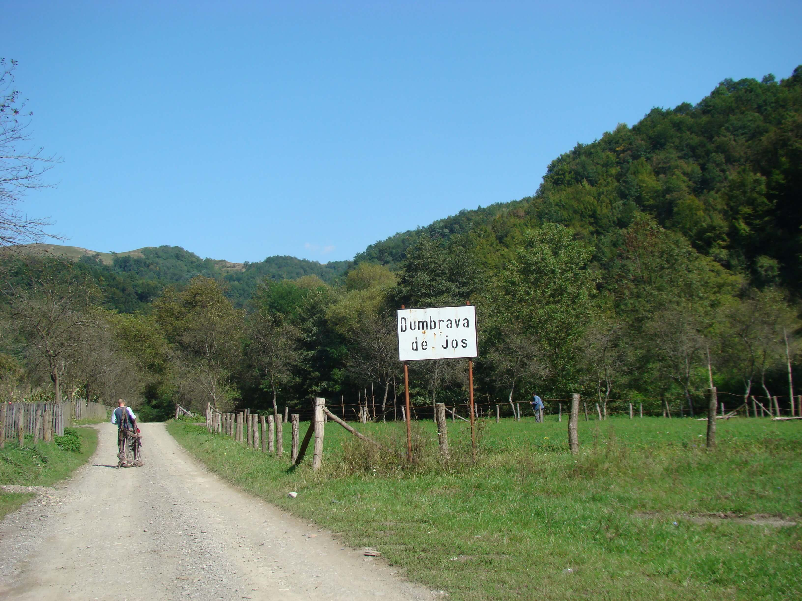 Traseu bicicleta Țara Zarandului